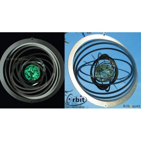 Tourbillon Phosphorescent 200 - Suspension décorative en inox