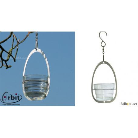 Support de photophore - Suspension décorative en inox