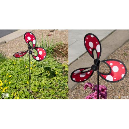 Little Flower Dots - Éolienne décorative