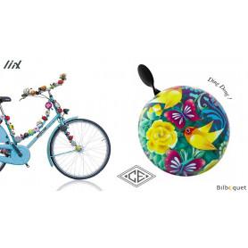 Sonnette de vélo Oriol Amarillo par Catalina Estrada - Liix Funny Bell