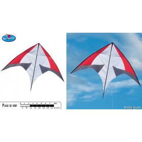 Skate rouge - Cerf-volant monofil pilotable par Paul de Bakker