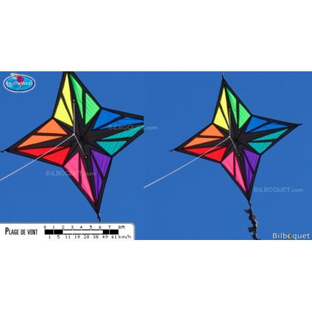 Cerf-volant monofil étoile Enif par Maurizio Angeletti