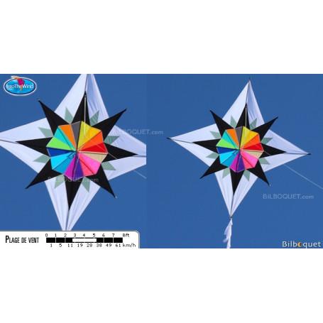 Cerf-volant monofil Grande étoile Enif par Maurizio Angeletti