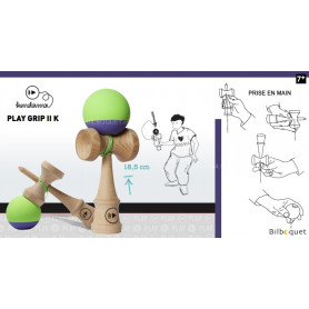 Kendama Play Grip II K - Greenberry