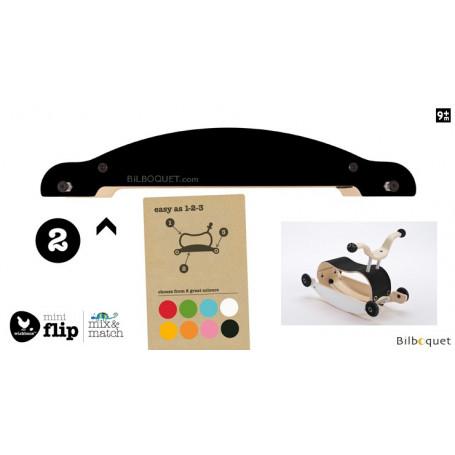 Wishbone Mini-Flip - Base - Noir