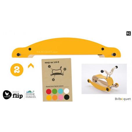 Wishbone Mini-Flip - Base - Jaune