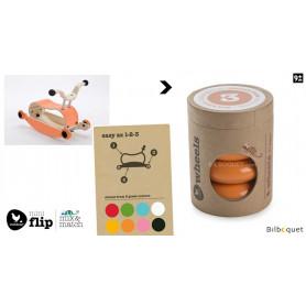 Wishbone Mini-Flip - Set de 4 roues - Orange