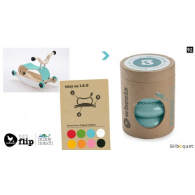 Wishbone Mini-Flip - Set de 4 roues - Aqua
