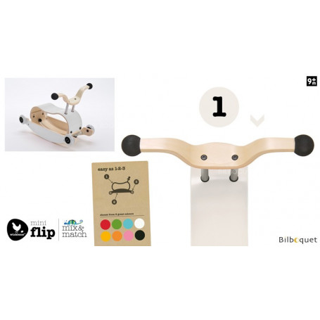 Wishbone Mini-Flip - Top - Blanc