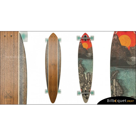 Longboard Pintail 44 Bamboo - Climate Change