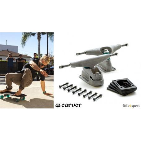 Trucks Carver C7+C2 pour surf skate