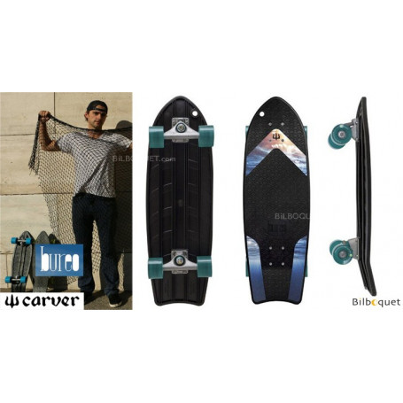 Carver x Bureo The Ahi Surfskate 27pouces CX
