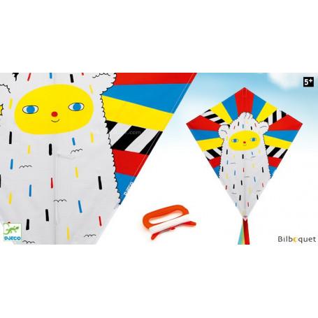 Cerf-volant Eddy Color Yeti - Djeco