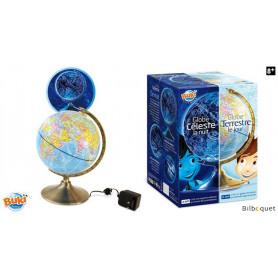 Globe Jour & Nuit - Globe terrestre et constellations