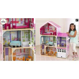 Maison de poupées Avery (avec mobilier)