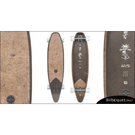 Longboard Pinner Evo Globe 40pouces - Coconut/Black