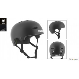 Casque TSG Evolution - Solid color - Satin Black