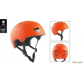 Casque TSG Superlight - Solid color - Satin Orange