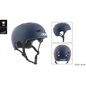Casque TSG Evolution - Solid color - Satin Blue