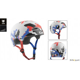 Casque TSG Evolution - Graphic design - Camo BER