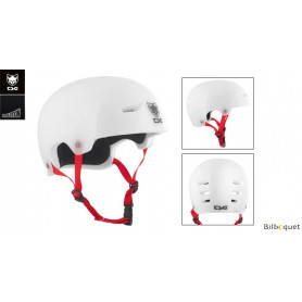 Casque TSG Evolution - Special Makeup - Clear White