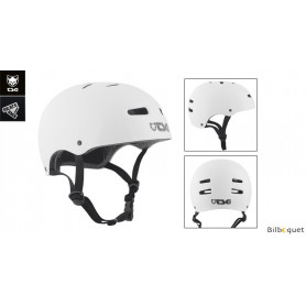 Casque TSG skate/bmx - injected color - injected white