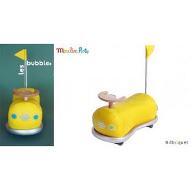 Porteur auto-tamponneuse - jaune - Mémoire d'enfant
