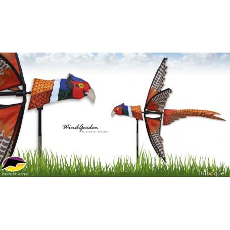 Éolienne Oiseau Faisan volant