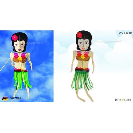Cerf-volant dansant - Femme hawaïenne 396x89cm