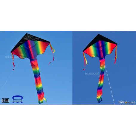 Cerf-volant monofil Super Flyer XL Rainbow