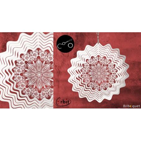 Ornement miroir - Anvers 150 - Suspension décorative en inox