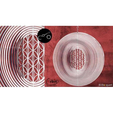 Ornement miroir - Diamant 250 - Suspension décorative en inox