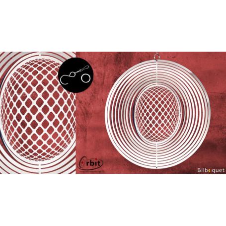 Ornement miroir - 3D 150 - Suspension décorative en inox