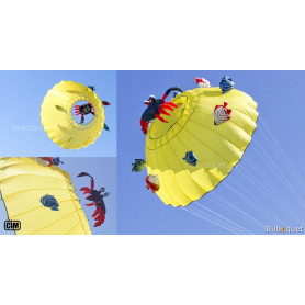 Manche à air Bol de mer jaune Ø300cm