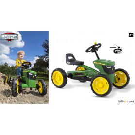 Kart à pédales Buzzy John Deere (2-5 ans)