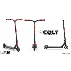 Trottinette freestyle Blunt - Colt S3 rouge - Ados/Adulte