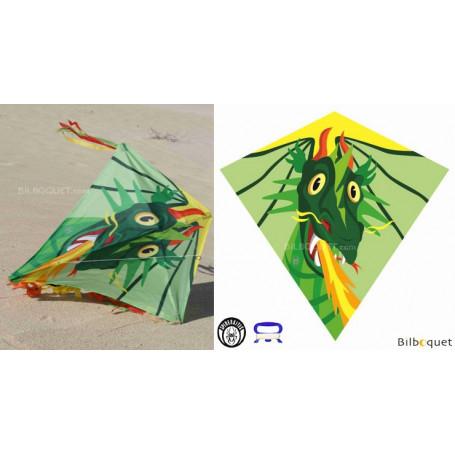 Eddy Dragon 75x75cm - Cerf-volant monofil enfant