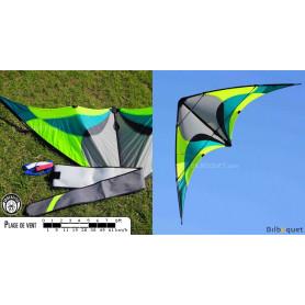 Tomboy vert Cerf-volant acrobatique