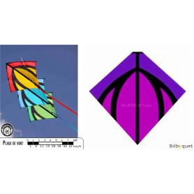 Leon violet pour train de cerfs-volants pilotables Leon