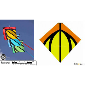 Leon jaune pour train de cerfs-volants pilotables Leon