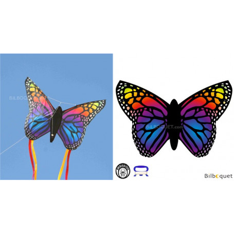 Papillon Rainbow - Cerf-volant monofil enfant