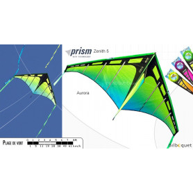 Zenith 5 - Aurora - Cerf-volant monofil