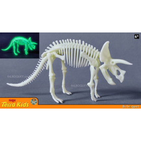 Tricératops phosphorescent - Terra Kids
