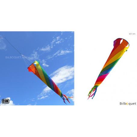 Turbine Arc-en-ciel 60cm - Jeu de vent
