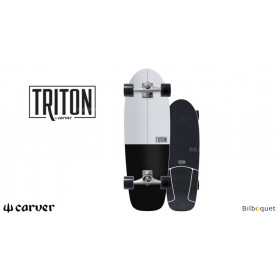 Triton Surfskate black Star CX 30