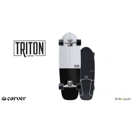 Triton Surfskate black Star CX 30