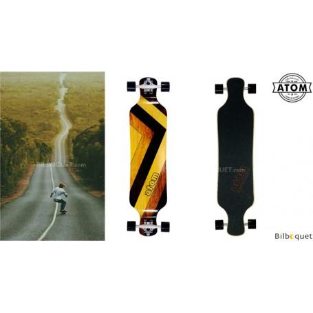 Atom Drop Deck Longboard – 39pouces – Woody