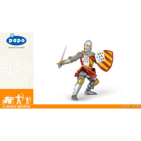 Chevalier au tournoi - Figurine Le monde médiéval - Papo