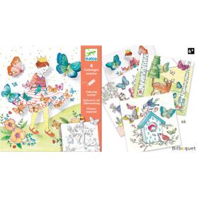 Coloriages surprises - Lady Butterfly - Petits Cadeaux