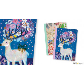 2 petits carnets Martyna - Papeterie Djeco